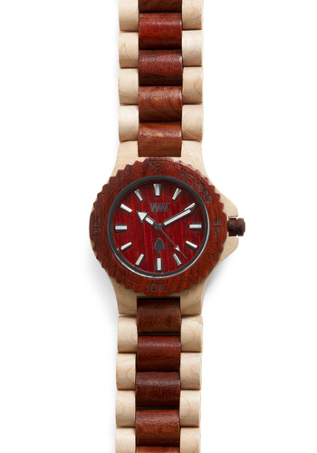 Do You Have the Timber? Watch - Brown, Cream, Casual, Eco-Friendly