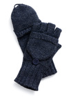Flag Football Gloves in Blue - Blue, Solid, Buttons, Casual, Fall, Winter