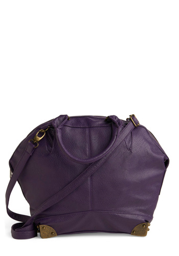 Pack It Up Bag - Purple, Solid, Work, Casual