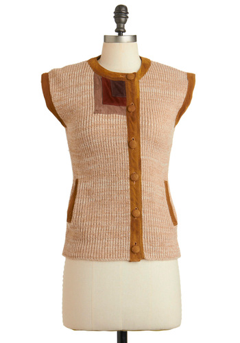 Vintage So Cute It Yurts Vest