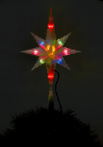 Sky Love the Holidays Tree Topper - Multi, Winter