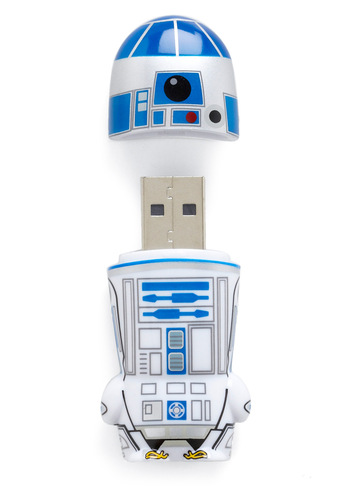 Store Trooper USB Flash Drive in R2-D2 - Blue, White