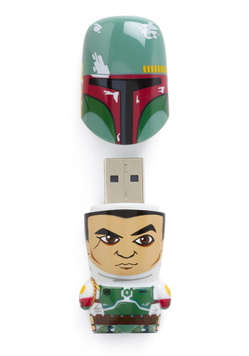 Store Trooper USB Flash Drive in Boba Fett - Multi