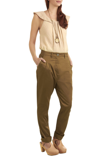 Styling the High Road Pants - Tan, Solid, Pockets, Work, Spring, Fall, Long
