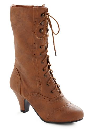 Seeking Treasures Boot - Brown, Party, Work, Fall, Winter, Show On Featured Sale, Show On Featured Sale