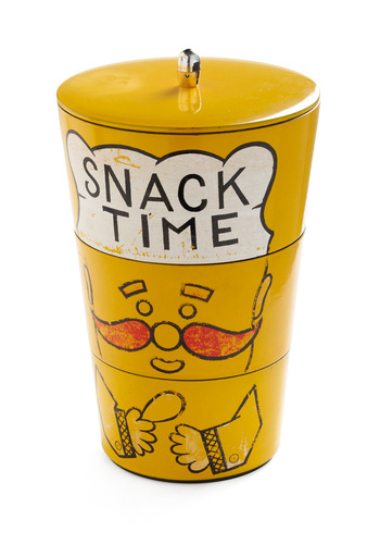 Vintage Stacks of Snacks Container Set
