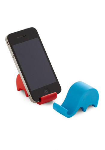 Tusk Me Phone Stands by Streamline - Solid, Dorm Decor, Multi, Red, Blue, Grey, Best Seller, Best Seller, Variation, Good