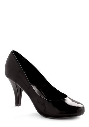 Neap Tide Heel in Black - Black, Solid, Wedding, Party, Fall, Winter