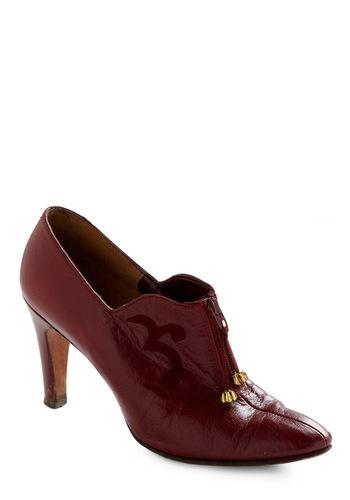 Vintage Red Over Heels