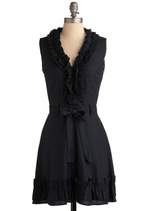 Navy Notion Dress in Midnight