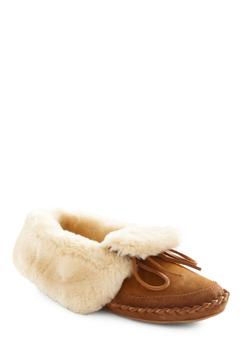 Late Night Cookies Slipper - Brown, Cream, Solid