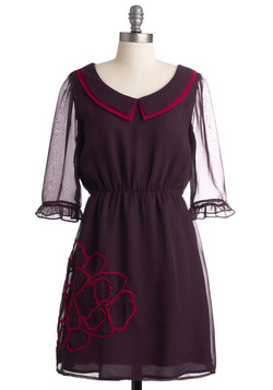Plum Me to You Dress