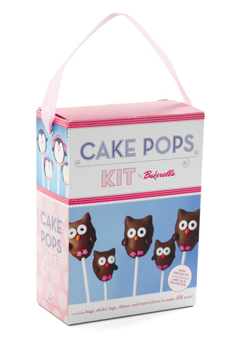 Cake Pops Kit by Chronicle Books - Multi, Handmade & DIY