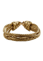 Gold Under Wraps Bracelet
