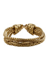 Gold Under Wraps Bracelet - Gold, Chain, Party