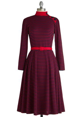 Tatyana/Bettie Page City Sailing Dress  Mod Retro Vintage Dresses