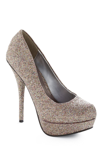 Fashion Fantasy Heel - Multi, Silver, Party
