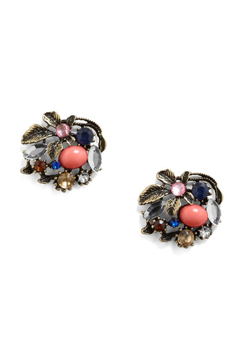 Heirloom-inous Earrings - Multi, Special Occasion, Party, Vintage Inspired