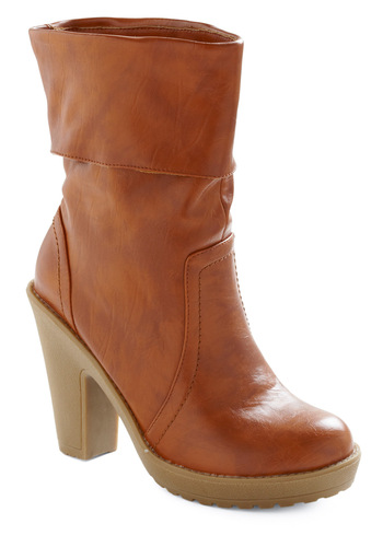 Shopping for Fun Boot - Brown, Fall