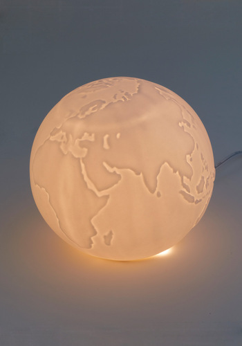 Traveling Light Lamp by Streamline - White, Solid