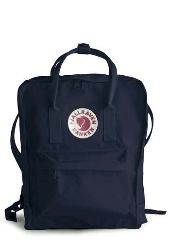 Wherever You Wander Backpack in Navy by Fjällräven - Blue, White, Pockets, Solid, Work, Scholastic/Collegiate