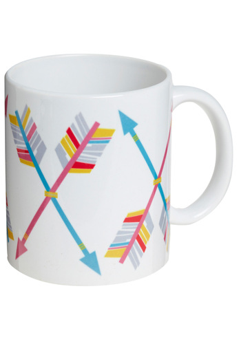 Ready, Aim, Admire Mug - Multi, Dorm Decor
