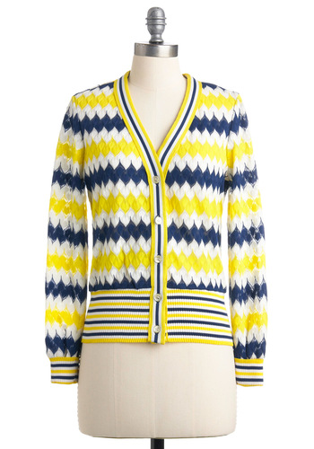 Vintage Never a Dull Momento Cardigan