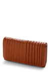 Pleat-y Please Wallet - Brown, Pleats, Pockets, Casual