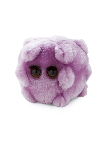 Kissing Disease Plush - Purple, Solid, Brown, Top Rated