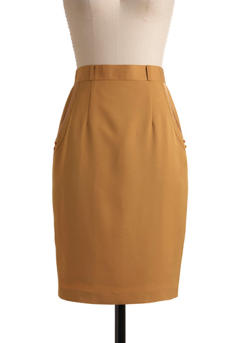 Vintage Go for the Bold Skirt