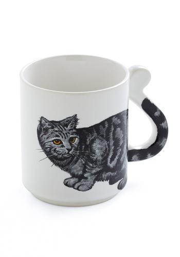 Vintage Morning Purr-son Mug