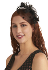 Style Guru Headband - Black, Polka Dots, Bows, Feathers, Wedding, Party, Vintage Inspired, Statement