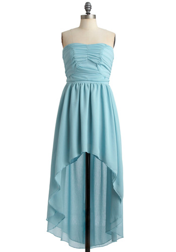 Ice Falls Dress in Blue