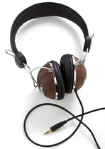 Opportunity Rocks Headphones in Hardwood