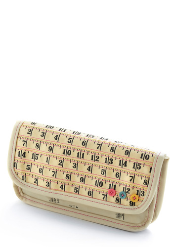 Holding Pattern Wallet by Disaster Designs - Cream, Yellow, Blue, Pink, Black, Print, Bows, Buttons, Pockets, Casual, Faux Leather, International Designer