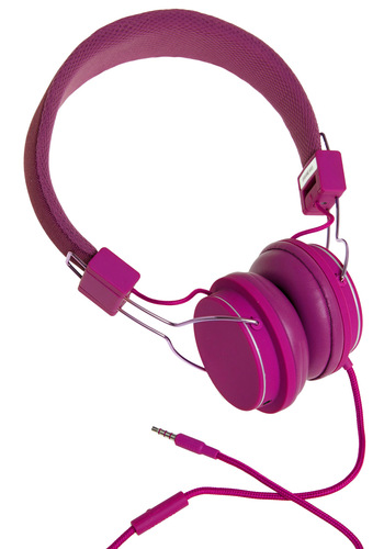 Thoroughly Modern Musician Headphones in Raspberry by Urbanears - Pink, Solid, Dorm Decor, Travel, Graduation