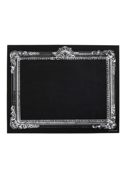 Retro Blackboard in Rectangle