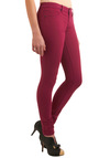 Fit to Wear Jeans in Raspberry by Blank NYC - Long, Casual, Pink, Solid, Pockets, Fall, Denim