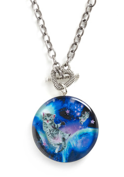 Meow-ter Space Necklace