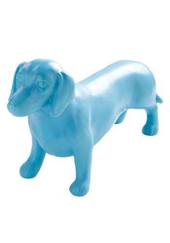 Raise the Bark Statue by Streamline - Dorm Decor, Blue, Solid