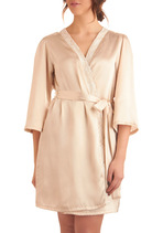 Elegance at Its Best Robe in Cream