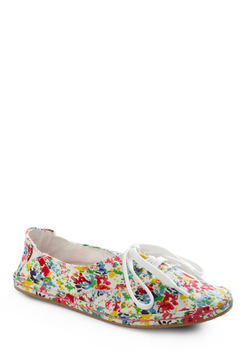 Studio Tour Sneaker - Multi, Red, Yellow, Green, Blue, Purple, White, Floral, Casual