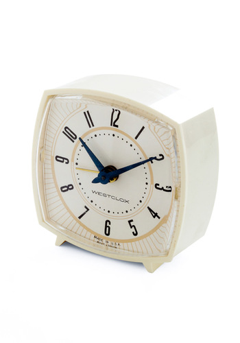 Vintage Second Wind Clock