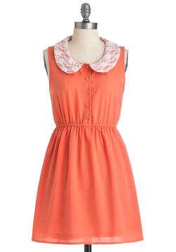 Women's Divine Melon Dress