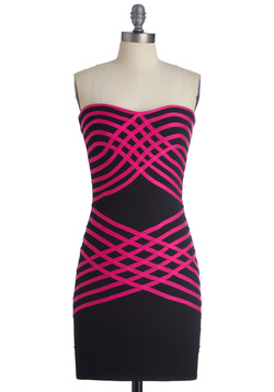 Weave 'Em Breathless Dress