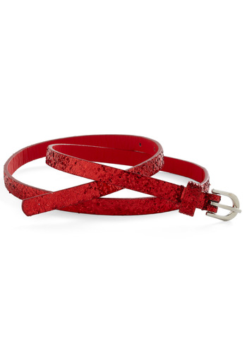 Dash of Dazzle Belt - Red, Solid, Party