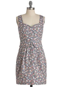 Floret Silhouette Dress