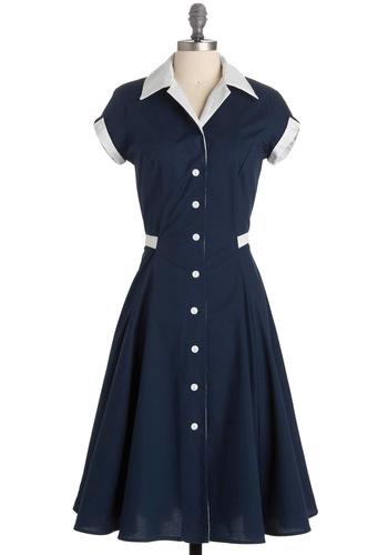 Baba-blue Dress