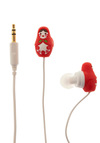 Country House Earbuds in Nesting Dolls by Decor Craft Inc. - Red, Dorm Decor, Quirky, Travel