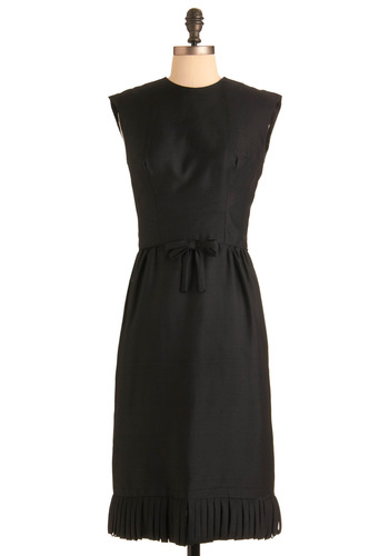 Vintage Fringe Bistro Dress